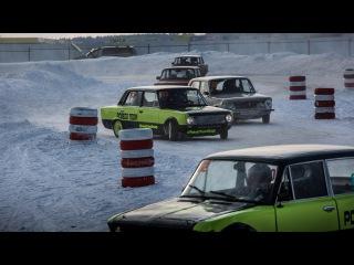Pobeda Team Garage / Нарезка дрифт тренировки Ice Matsuri - ADM RaceWay