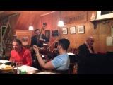 Hungarian Gypsy Trio JO-HOUSE session 2014-5-5 blues for yutaka-san