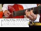 Flamenco Guitar lesson W/ TABS | Solea por Buleria Falseta 1 Variations | Diego de Oro