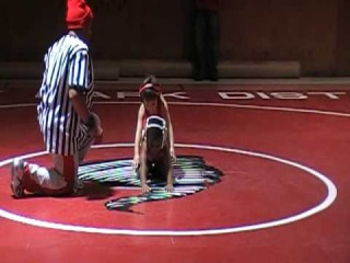 3 Yr. Old Aidens 1st wrestling match as a Harvey Twister.