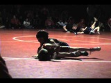 Camp boys Wrestling, BV Dual vs. Salida (4 year old flexes after pin)