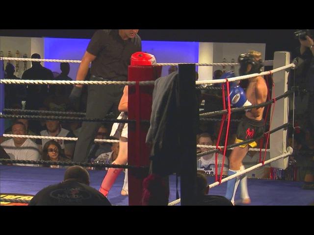 Vetle v Gillis. ISKA European Title 38KG. Stand and Bang Heavy Hitters, 9th August 2014