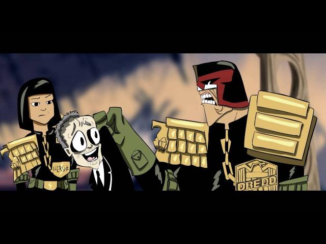 Judge Dredd Superfiend Directors Cut Судья Дредд Демон Режисёрская Версия Black Street Records