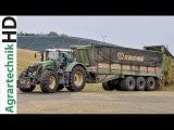 FENDT Traktoren im Einsatz  LU Blunk  Krone BiG X 1100  Maish