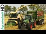 KRONE BiG X 1100  FENDT + John Deere Traktoren h