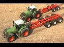 FENDT Traktoren Hawe Wechselbrückenaufbau Body Swap Systems