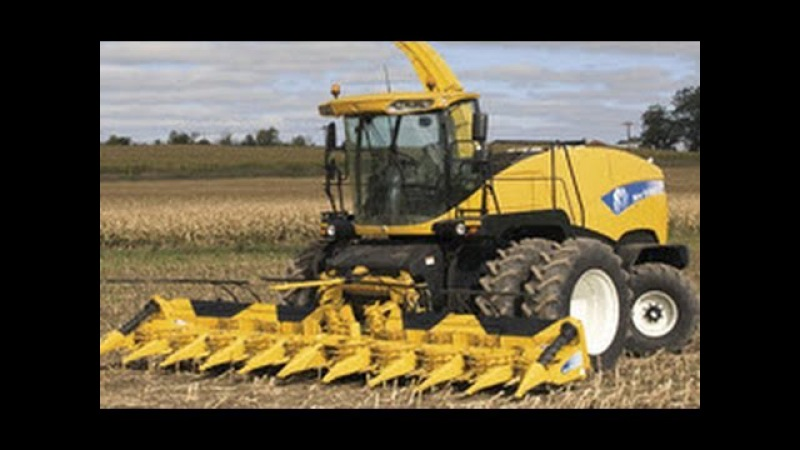 New Holland FR9090 Lamborghini 4 Fendt New Holland 7070 häckseln Mais für Biogasanlage