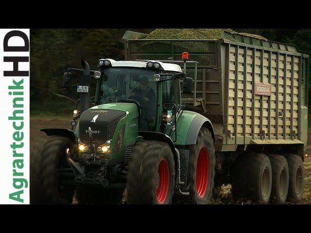 Fendt Katana vs. John Deere 7950i - Feldhäcksler häckseln für Biogasanlagen