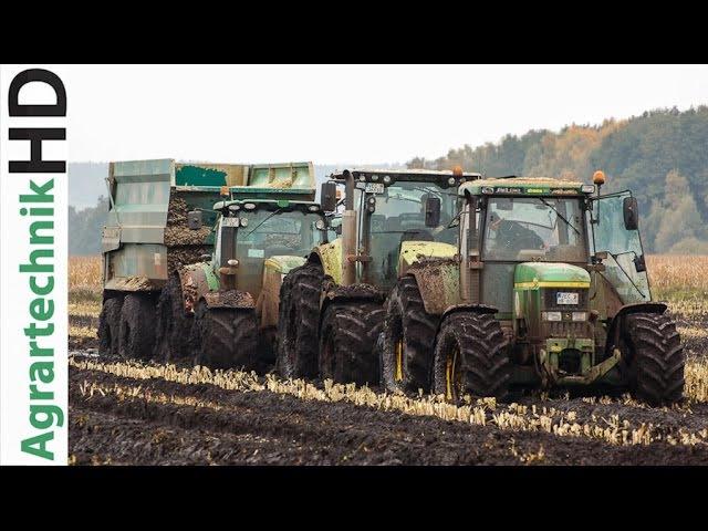 BEST OF 2015 | Traktoren im Einsatz | Tractors in Action | Fendt | John Deere | AgrartechnikHD