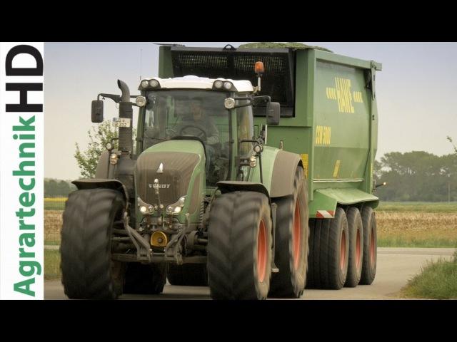 FENDT Traktoren | Grass Silage Claas Jaguar | Traktoren im Einsatz | HAWE Produktvideo