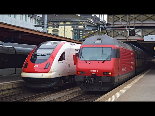 Züge Winterthur 09 02 2017