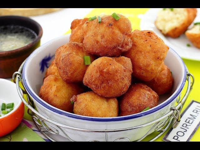 Пончики с картошкой рецепт