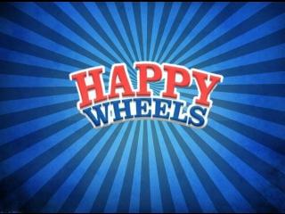 Happy Wheels-Пробное видео с веб камерой.