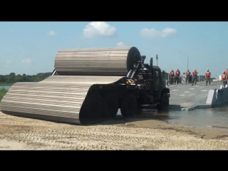 Грузовик Faun-Trackway-Montage