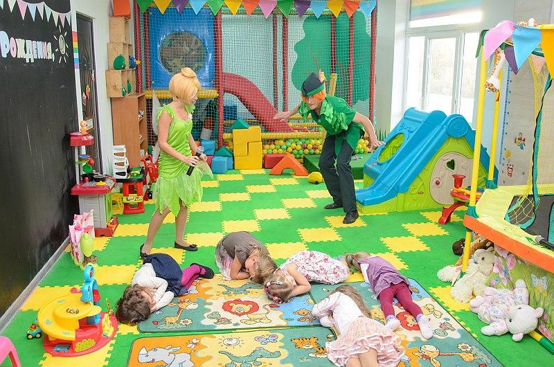Питер Пэн на детский день рождение