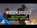 Watch Dogs 2 | Бесплатная пробная версия на PS4