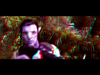 Avatar 3D 1080p Anaglyph Trailer (3д анаглиф)