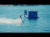 Wakeboarding_With_a_Massive_Harbor_Crane_as_a_Tow_Cable