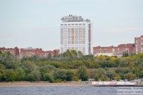 15 сентября 2012 -  Вид на набережную Автозаводского района Тольятти с Волги