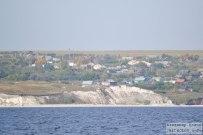 15 сентября 2012 - Самарская область: Вид на село Климовка с Волги