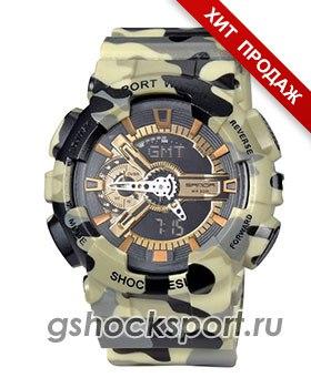 Всегда поддерживать связь со временем все любители активного отдыха и просто динамичного ритма жизни могут при помощи часов от Casio G-Shock. Практичность и надежность нашли свое воплощение в выразительном спортивном стиле изделия.