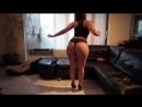 Нереальная попка. Пышная девушка с огромной жопой танцует тверк, трясет булками, толстая, пухлая, милфа milf mature мама сестра