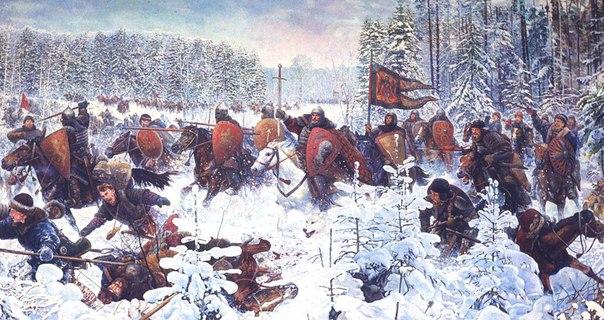 БОРТЕНЕВСКАЯ БИТВА (22 декабря 1317 г.)