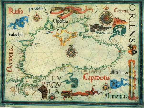 Торговые связи Москвы с итальянскими колониями в