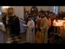 Введение во храм Пресвятой Богородицы. Апостольское чтение на церковно-славянском и марийском языках.