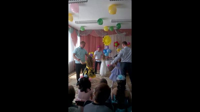 Выпускной в детском саду Танец папы и дочки