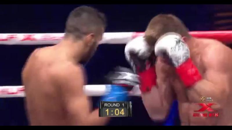 Kunlun Fight 60 Artur Kyshenko (UKRAINE) vs Zakaria Baitar (BELGIUM)