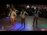 Shelina &amp Her Ladies Team. Pachanga Sensual @ Salsa Casa Loca 2013