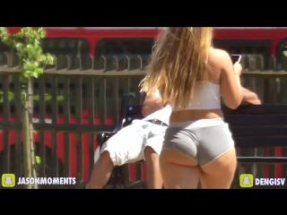 Big booty bait in public prank!