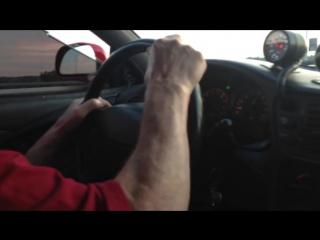 Дед тестирует тачку внука! Mitsubishi Eclipse