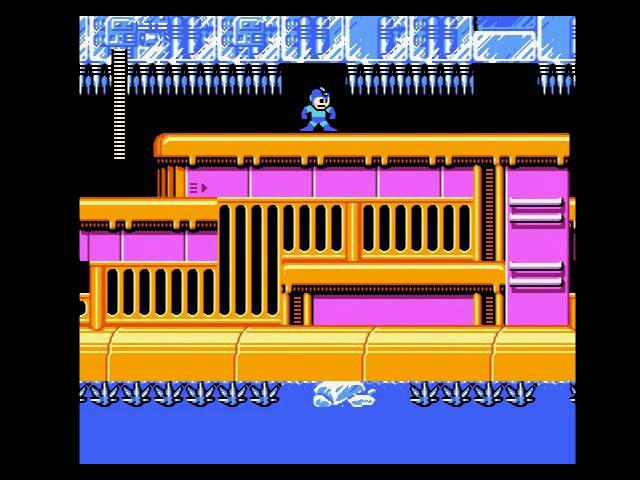 FC(NES) Rockman 6 (Megaman 6) Blizzard man stage no damage run
