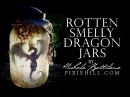 Rotten Smelly Dragon Jars Tutorial