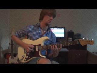 Guitar solo (Funk-Fusion style.) by Aleksandr Poda.