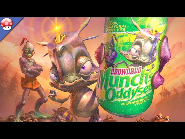 Oddworld: Munch's Oddysee HD Gameplay PC HD [1080p 60fps]