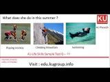 IELTS Life Skills A1 Sample Test -Q1-P2