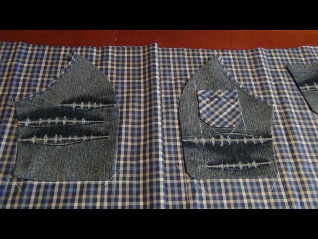 Накладные карманы для шортов