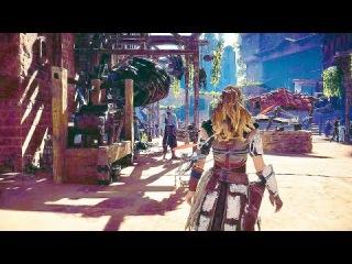 HORIZON ZERO DAWN Gameplay Walkthrough And All Trailers PS4 2017