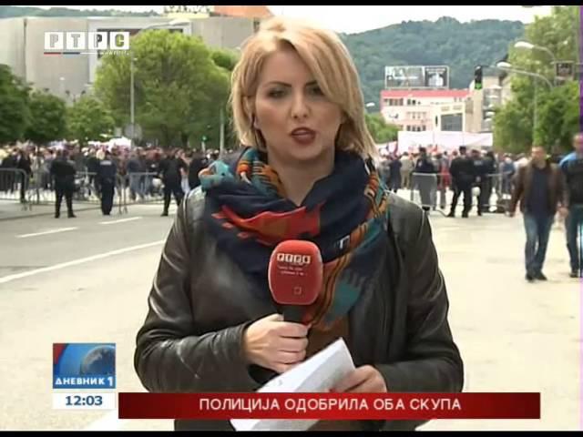 U Banjaluci miting vladajuće koalicije i protest opozicije