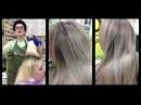 Окрашивание Dim Out Затемнение корней у блондинок REVERSE BALAYAGE TECHNIQUE