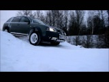 Audi Allroad Offroad test(Winter Style)