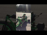 Banks Drifting with Vanilla Ice On SFD Industries Drift Trike
