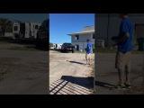 Vanilla Ice Testing Banks' E Revo RC Car