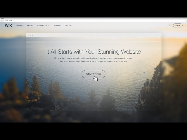Wix ADI | Artificial Design Intelligence | The Future of Website Building