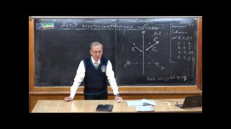 Урок 236. Метод электростатических изображений