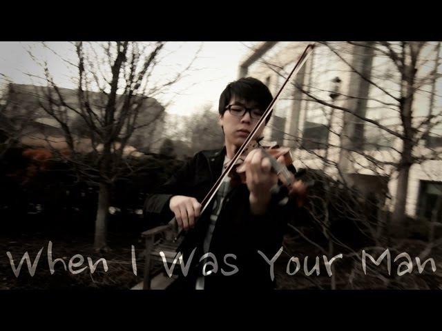 Bruno Mars - When I Was Your Man - Jun Sung Ahn Violin Cover
