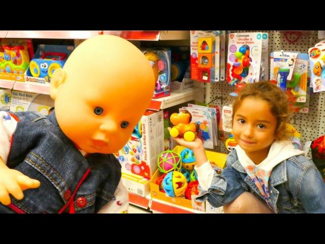 Evcilik oyunu - Ceylin bebek için oyuncak seçiyoruz. Kız çocuk oyunları ve oyuncakları!